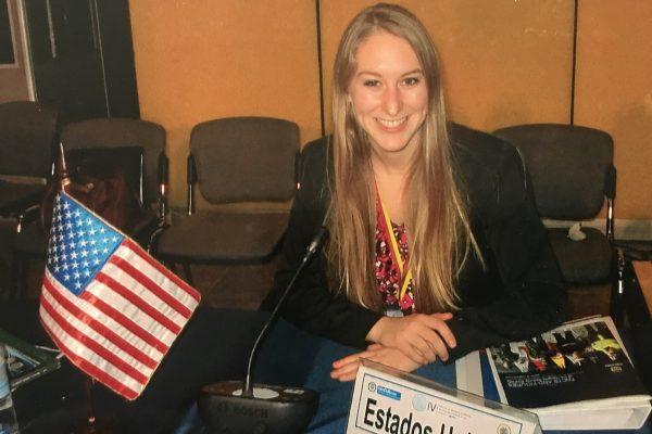 Lauren at DC Internship