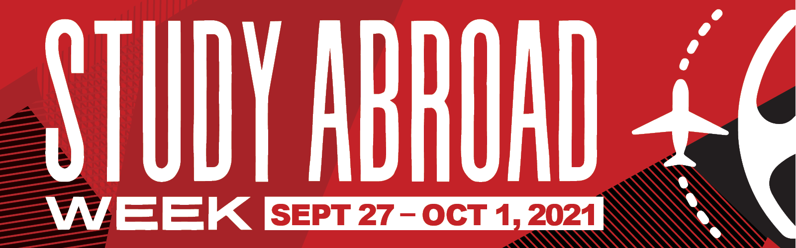 Study ABroad Week Sept 27-Oct 1, 2021